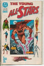 DC Comics Young All Stars #3 August 1987 NM