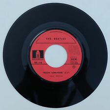 """Vinyle 45T The Beatles """"Yellow submarine"""""""