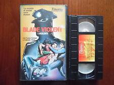 Blade violent (Laura Gemser, Gabriele Tinti, Ursula Flores) - VHS Videogram rara