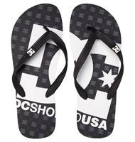 Dc shoes infradito gomma uomo Spray black sandals mare piscina
