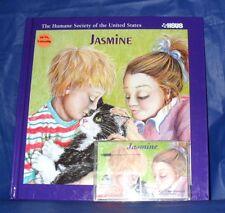 """JASMINE""  (A TRUE STORY)  BOOK & AUDIO CASSETTE  *LIKE NEW*  ~FREE SHIPPING~"