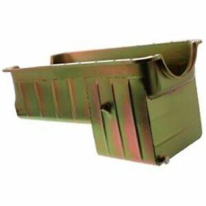 Milodon 30570 Oil Pan Steel Gold Iridite 8 qt. For Ford Big Block 429 460 Pickup