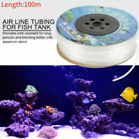 100m/ 328' Aquarium Silicone Air Line Tubing for Fish Tank Air Pump 6mm QUALITY