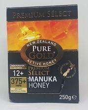 Manuka Miele Premium selezionare NPA di Oro Puro 12+ 375+ 250 G autentica della Nuova Zelanda