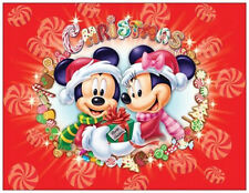 20 CHRISTMAS Minnie MICKEY Clubhouse DISNEY Greeting Flat CARDS Envelopes Seals