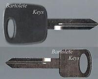 Transponder Key Blank Fits 1998 1999 2000 2001 2002 2003 Ford LTD F150 F-150 *