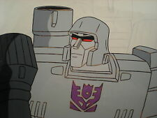 TRANSFORMERS G1 - MEGATRON - Cel + Pencils - Original 1984 TV Production Art