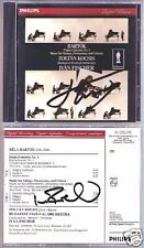 KOCSIS & IVAN FISCHER Signed BARTOK Piano Concerto No.1 CD Zoltan Percussion