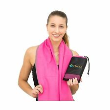 Microfiber Sports and Travel Towel - The Best Fast Drying Super Absorbent Lig...