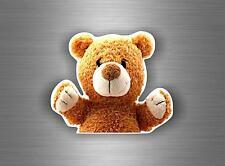 Sticker adesivo adesivi auto tuning biker orsacchiotto peluche teddy bear parete