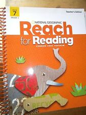 National Geographic Reach for Reading, Grade 1, Unit 7, Teacher's Edition, 2013