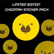 Choomah Sticker Set (5 Pack)