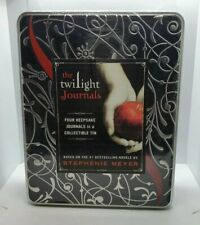The Twilight Journals 4 Journal Set In Collectible Tin New Sealed Twilight Book