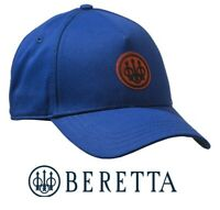 Beretta Patch Cap Blue w/ Orange Logo Hunting Shooting Hat BT031 One Size