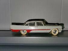 DINKY TOYS Car DESOTO FIREFLITE No.192 color: gray x red minicar RARE