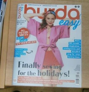 Burda Easy magazine 4/2021: Sizes 34-44: Finally sewing for the holidays & more