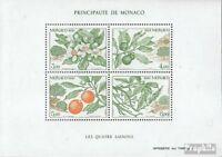 Monaco Block52 (kompl.Ausg.) postfrisch 1991 Vier Jahreszeiten