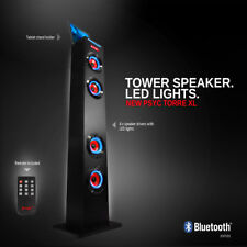Psyc Torre XL Tableta Ipad Bluetooth Inalámbrico Torre del Altavoz Soporte De Control Remoto Usb