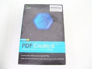PDF CREATOR PUBLISHER CREATE EDITING SUITE MAKER NUANCE M009A-G00-6.0 VERSION 6