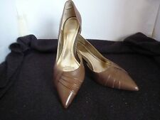 RMK COLLETTE HIGH HEEL LADIES TAUPE SHOES SIZE 7.5