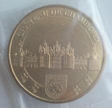 Monnaie de Paris -  41250 Chambord Château 2012 Jeton Mdp Touristique Token