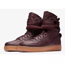 """Nike Air Force 1 SF """"Borgoña"""" (864024 600) Zapatillas para hombre UK 7.5 EU 42"""
