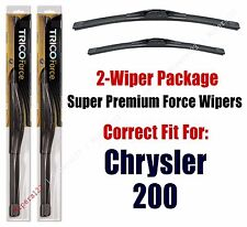 Wipers 2-Pack Hi-Performance - fits 2015+ Chrysler 200 - 25260/190