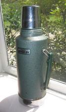 Stanley Half Gallon 64oz Aladdin Thermos Green Metal No A945DH