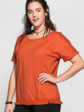 Scoop Neck Blouses Boho Tops & Shirts for Women