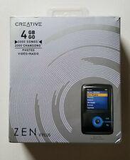 Creative Labs Zen V Plus 4GB Blue Portable Media/MP3 Player (New/Open Box)