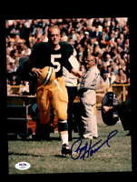 Paul Hornung PSA DNA Signed Green Bay Packers 8x10 Autograph Photo