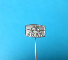ZRAK - OPTICS FACTORY for YUGOSLAVIAN ARMY - MILITARY INDUSTRY - vintage pin 1
