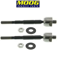 NEW Acura MDX 2007-2013 Pair Set of 2 Inner Steering Tie Rod Ends Moog EV800578