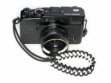 White Shark Paracord Camera Wrist Strap Fuji Olympus Panasonic Canon X-Pro2 etc