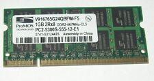 1gb RAM ddr2 acer aspire 1644 1650 1651 1652 wlmi 1640z 1651 wlmi memoria de trabajo