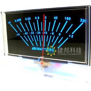 P-134 VU Panel Meter DB Level Header Audio Amplifier w Backlight
