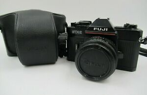 Fuji STX-2 SLR Camera with X-Fujinon 1:19 f-50mm Lens [821]