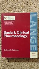 Basic and Clinical Pharmacology by Bertram G. Katzung (2003, Paperback, Revised)