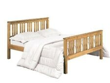Shaker Style Pine Double Bed 4ft6