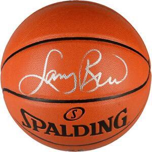 Larry Bird Boston Celtics Signed Indoor/Outdoor Basketball - Fanatics