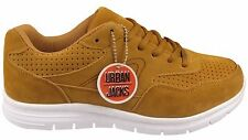 Men Trainers Faux Suede Sports Shoes Running Lace Up Fitness Gym Boys UK 6-12