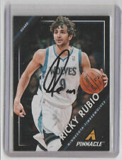 RICKY RUBIO Signed 2013-14 Pinnacle Basketball #194 Autograph ON CARD AUTO