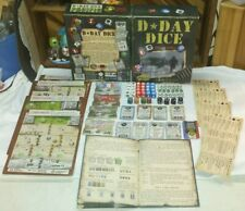 D-Day Dice Board Game Do or Die - Valley Games 2010 Near Mint
