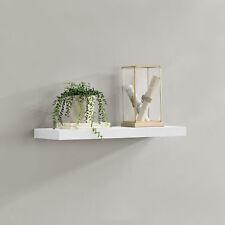 [en.casa]® Wandboard 60cm Wandregal Hängeregal Bücherregal Ablage Board Weiß