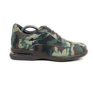 Cole Haan Air Conner Forest Camo SDE Mens 9.5 Green Leather Shoes Sneaker C14102