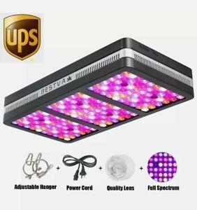 BESTVA 2000W Full Spectrum Hydro LED Grow Light with VEG Bloom Switch Pre-owned