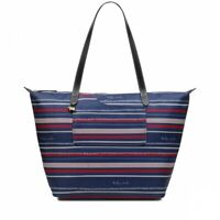 Radley Speckle Stripe Large Shoulder Bag, Ink