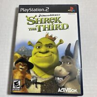 Shrek the Third (Sony PlayStation 2, 2007) PS2 Video Game Free Ship Complete