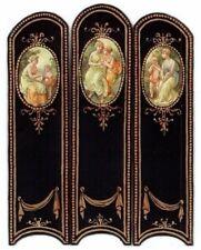 "1"" scale Natasha Beshenkovsky's Mini Decoupage- Victorian Screen w/Neo-Classical"