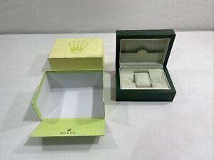 Rolex Watch Box Case Rolex SA Geneve Suisse 31.00.04 Green Wave Submariner GMT